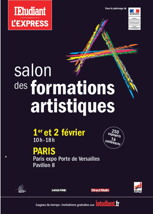 Salon des formations artistique rougier pl for Salon formation artistique paris