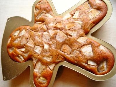 Bonhomme pain d'épices à la poire
