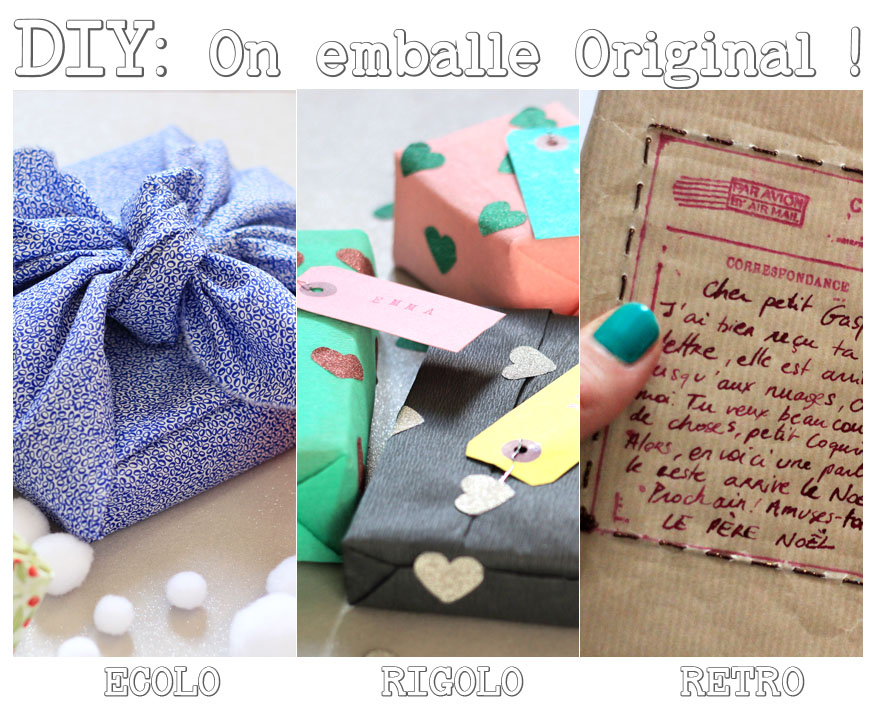 Emballage cadeaux pictures to pin on pinterest - Faire un emballage cadeau original ...