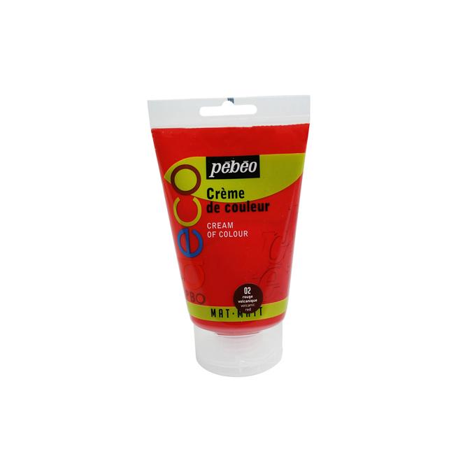 Peinture acrylique P.BO deco crème de couleur 110ml 116 - Eponde de mer
