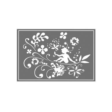 motif pochoir mural pas cher vente motifs pochoirs fleurs. Black Bedroom Furniture Sets. Home Design Ideas