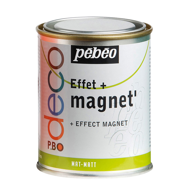 Peinture acrylique P.BO deco effet magnétique 500ml