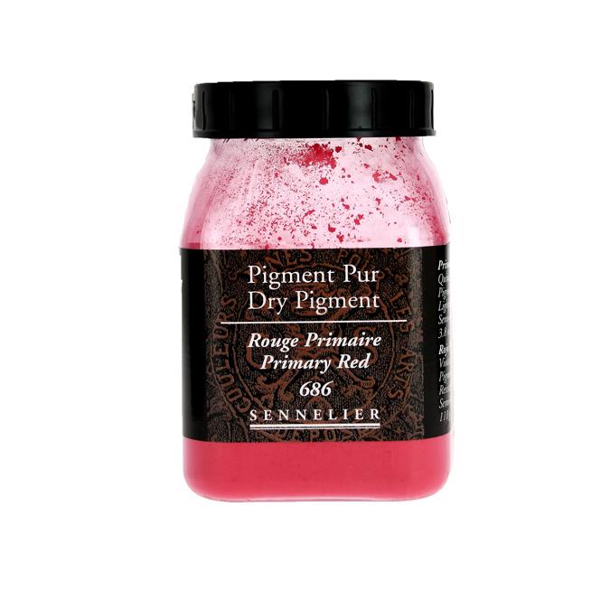 Pigment en poudre Sennelier pot de 200 ml 915 - Violet Minéral