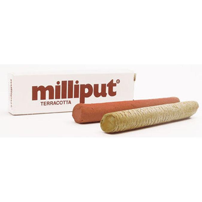 Pâte de restauration époxy modelable Milliput Noir