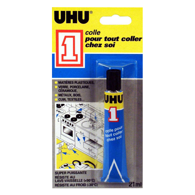 Colle UHU multi-réparations 21ml