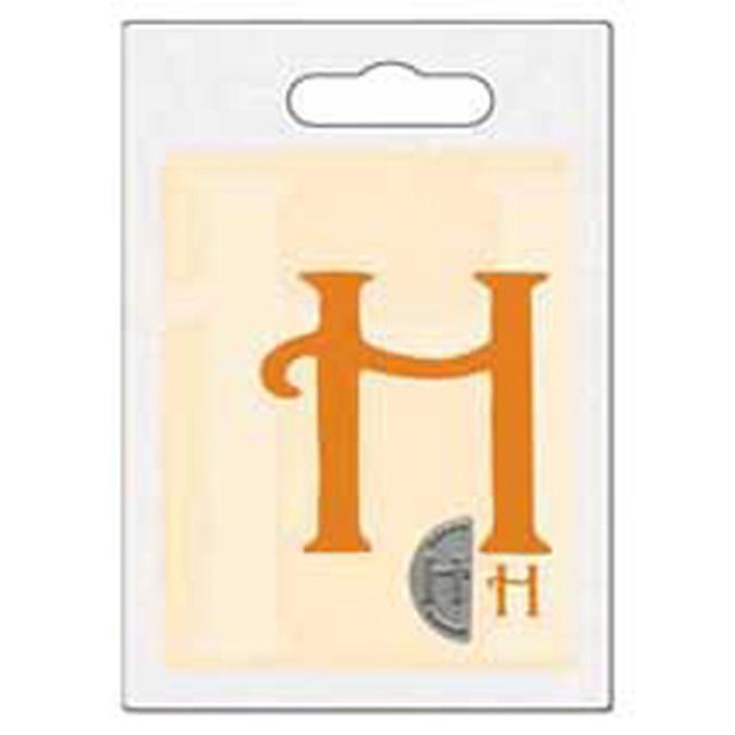 Cachet double initiale H