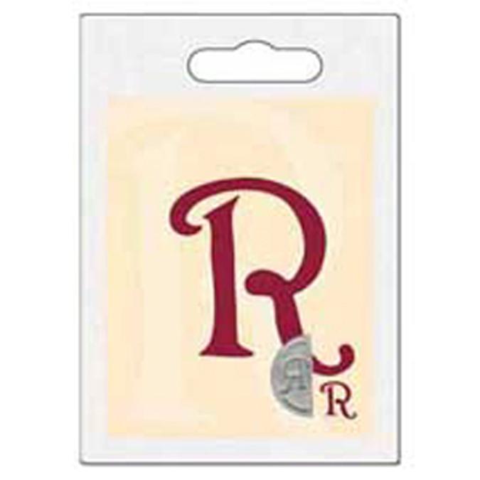 Cachet double initiale R