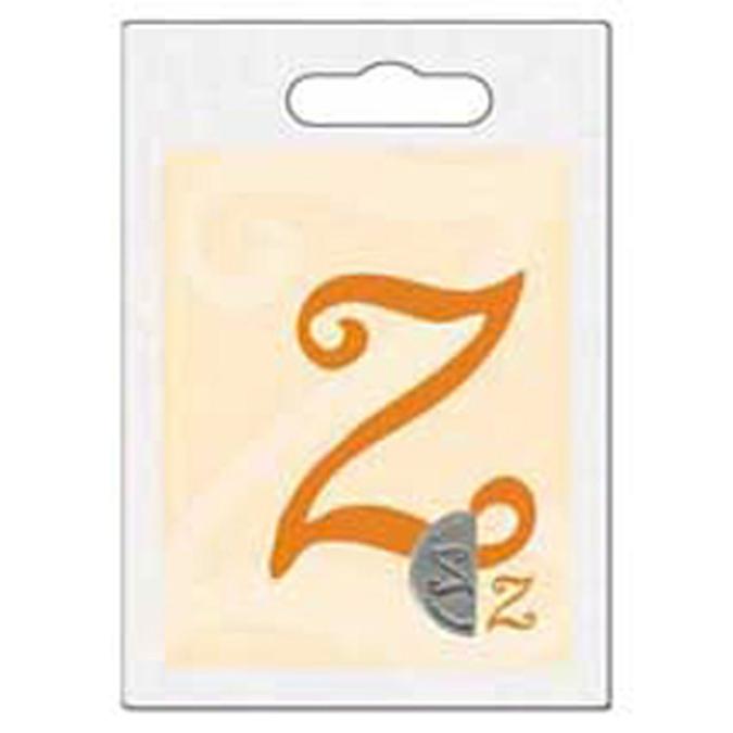 Cachet double initiale Z