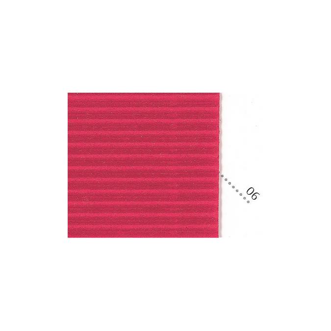 Carton ondulé 50 x 70cm rouge