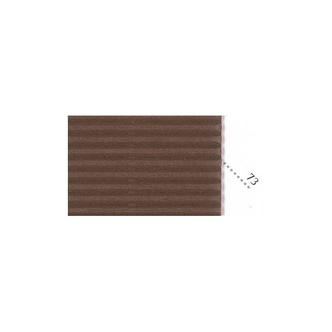 Carton ondulé 50 x 70cm chocolat