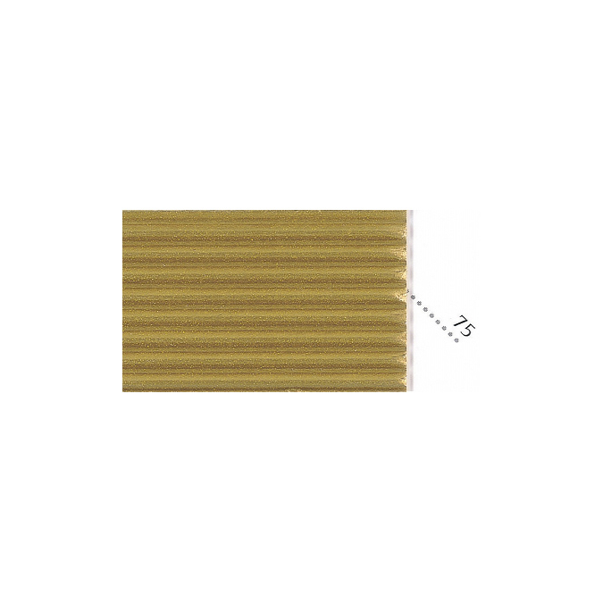 Carton ondulé 50 x 70cm or