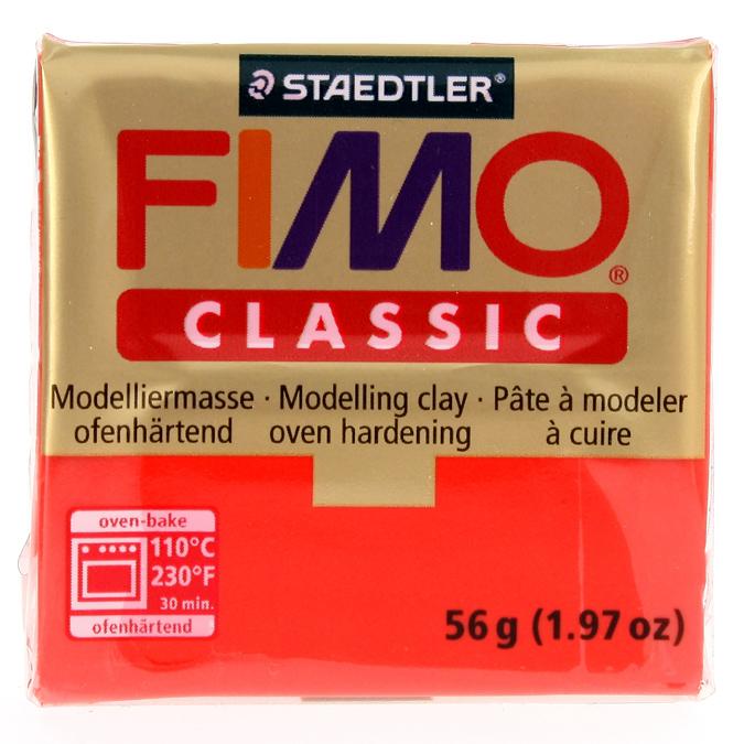 Pâte polymère Fimo Classic 56g 21 - Magenta