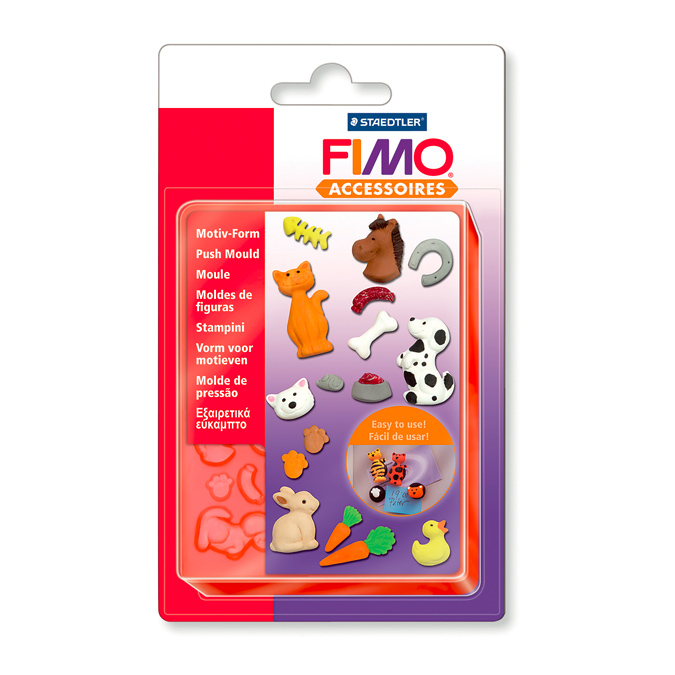 Moule flexible 15 motifs animaux