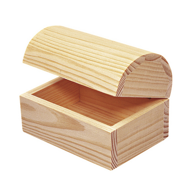 Coffre en bois 13 x 9 x 9cm rayher chez rougier pl - Coffre en bois a peindre ...
