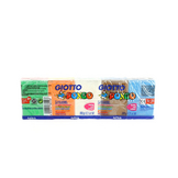 Pâte à modeler Giotto Pongo 500g 10 couleurs assorties