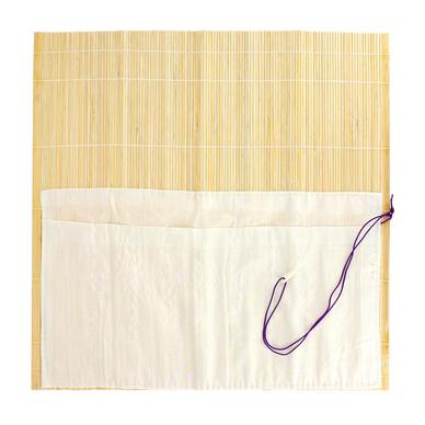 pincelier en bambou avec poches 36 x 36cm divers chez. Black Bedroom Furniture Sets. Home Design Ideas