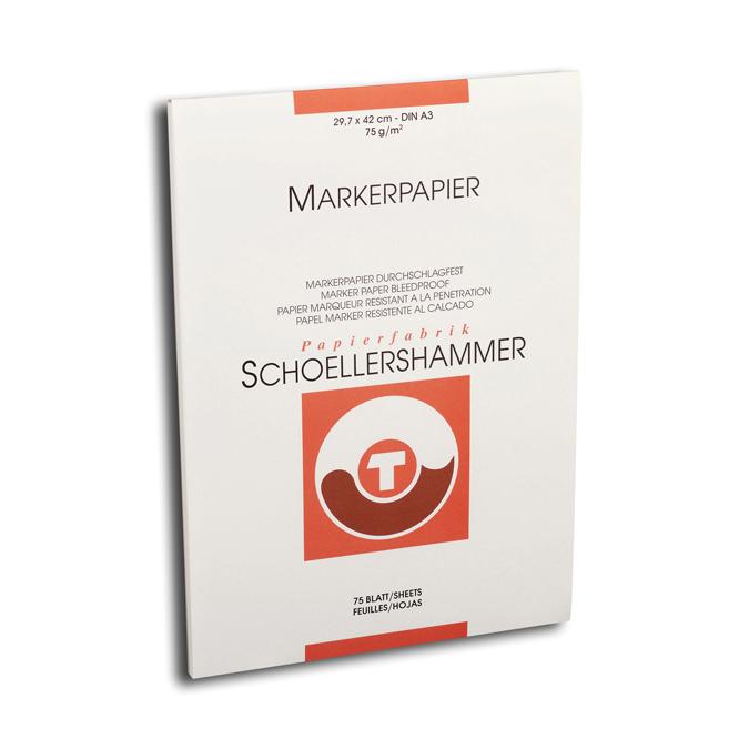 Bloc Layout Schoellershammer A3 75 feuilles