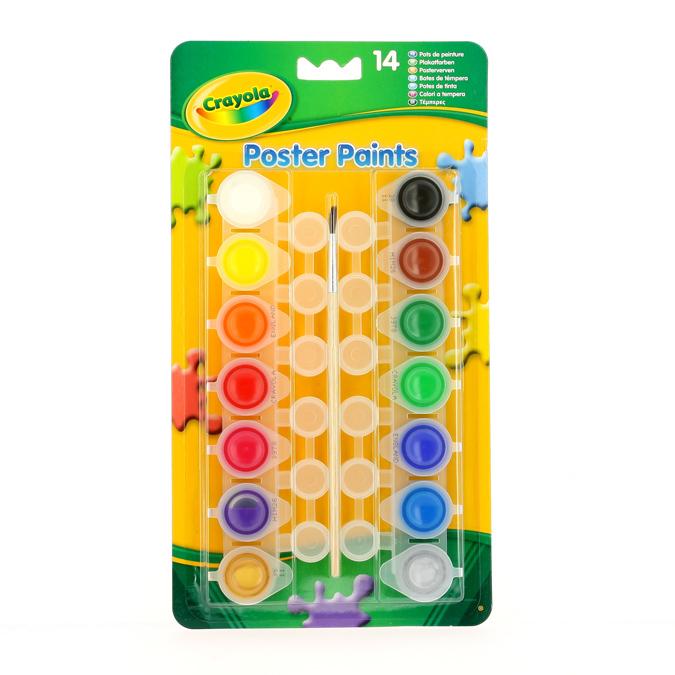Gouache Crayola set de 14 couleurs