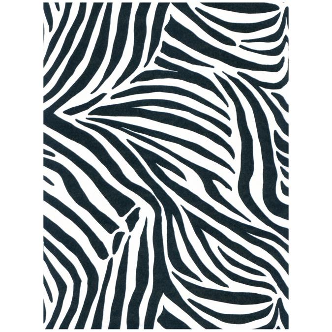 Papier Décopatch 30 x 40cm 429 zèbre blanc 2