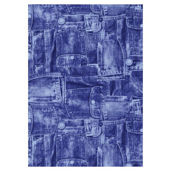 Papier Décopatch 30 x 40cm 381 bleu jean