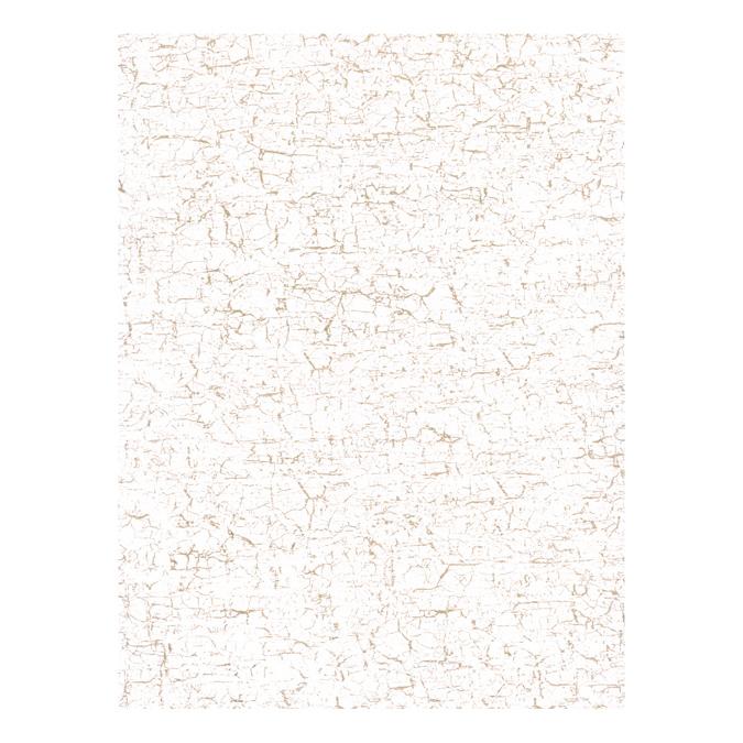 Papier Décopatch 30 x 40cm 444 faux uni blanc