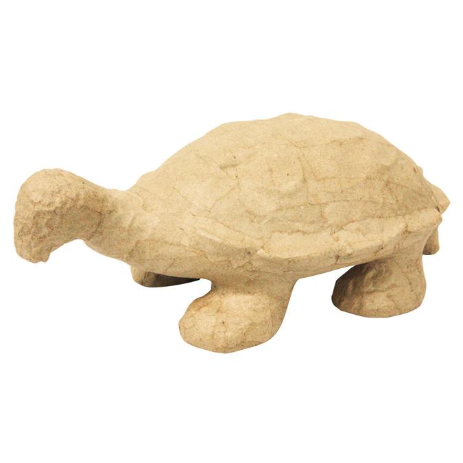 Objet en papier mâché tortue
