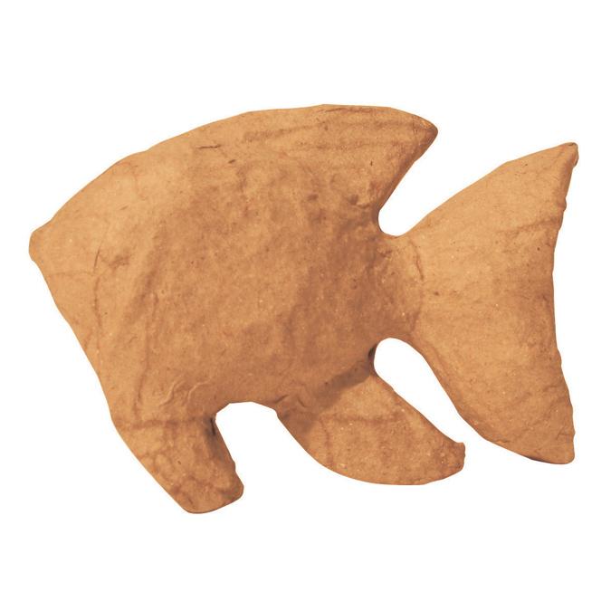 Objet en papier mâché petit poisson