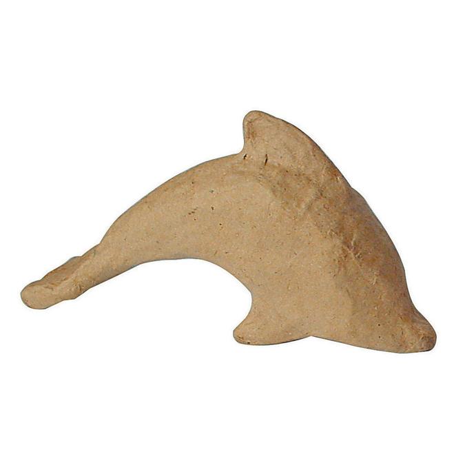 Objet en papier mâché petit dauphin