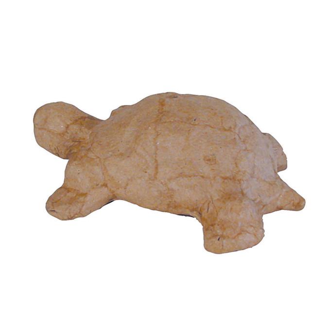 Objet en papier mâché petit tortue