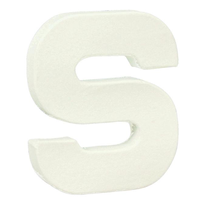Lettre en papier mâché 20,5cm S