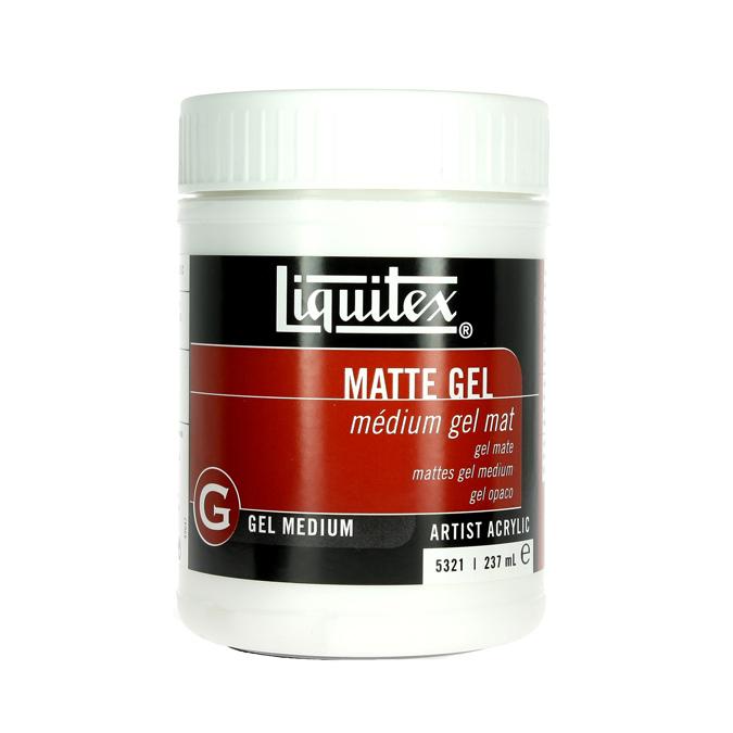 Médium-gel de texture pour acrylique 237ml mat