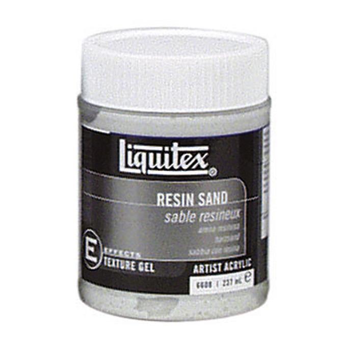 Medium-gel de texture pour acrylique 237ml sable résineux