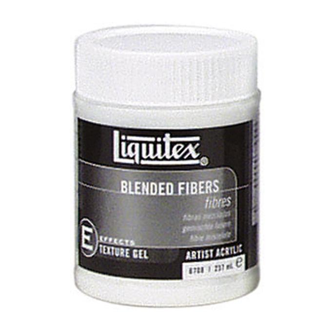 Medium-gel de texture pour acrylique 237ml fibres