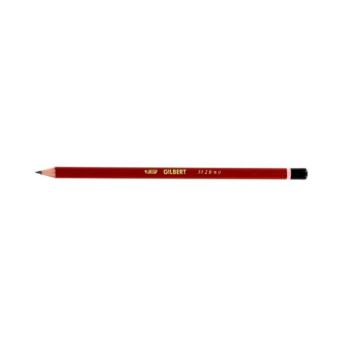 Crayons graphite Gilbert 2B