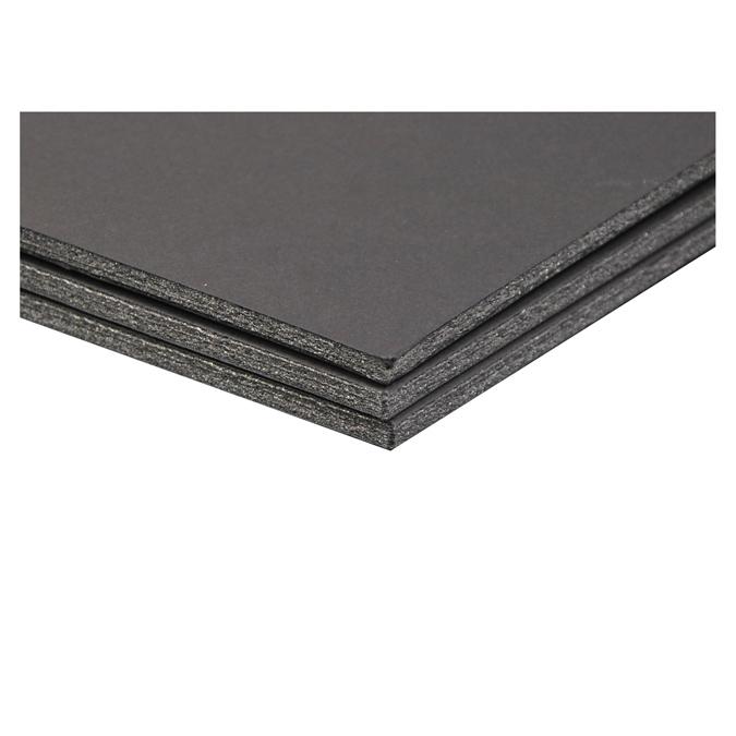 Carton mousse 5mm noir 21 x 29,7 cm