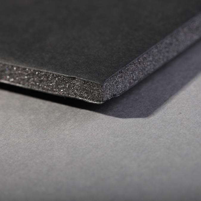Carton mousse 3mm noir 21 x 29,7 cm