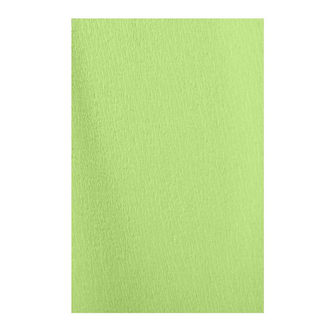 Papier crépon en rouleau 60% 2.50 x 0.50m vert printemps