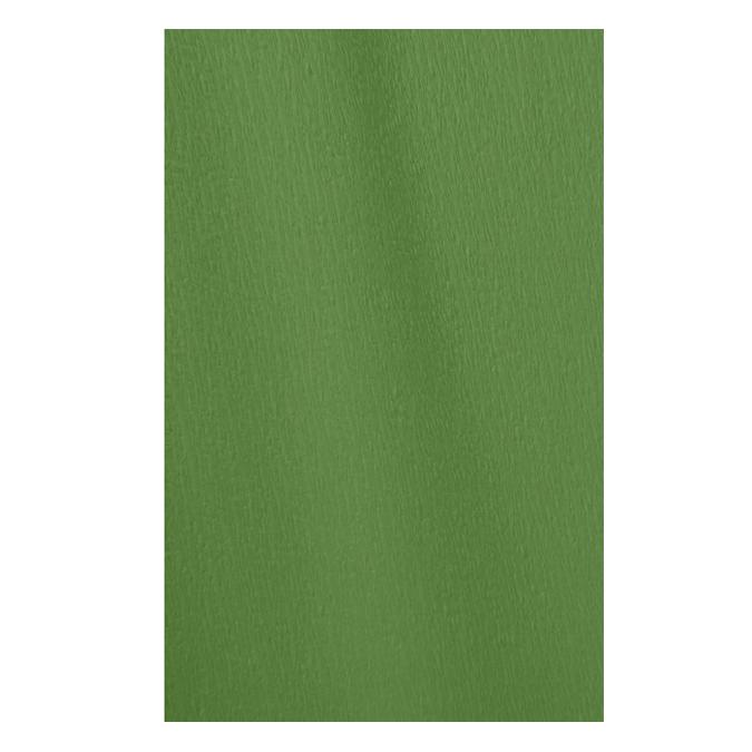 Papier crépon en rouleau 60% 2.50 x 0.50m vert fougère