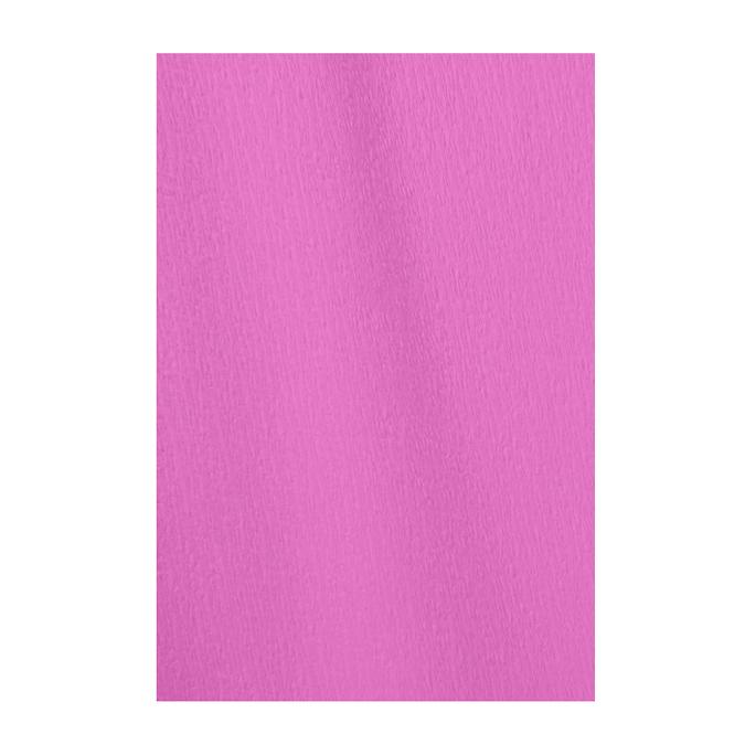 Papier crépon en rouleau 60% 2.50 x 0.50m rose acidulé
