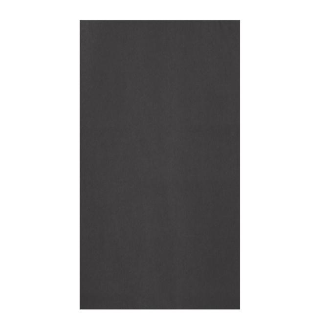 Papier de soie 8 feuilles 50 x 75cm noir