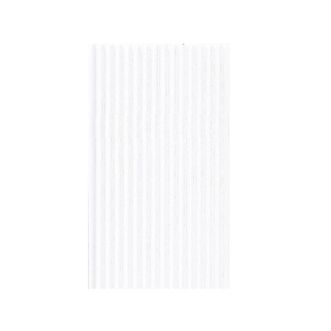 Carton ondulé 50 x 70cm blanc