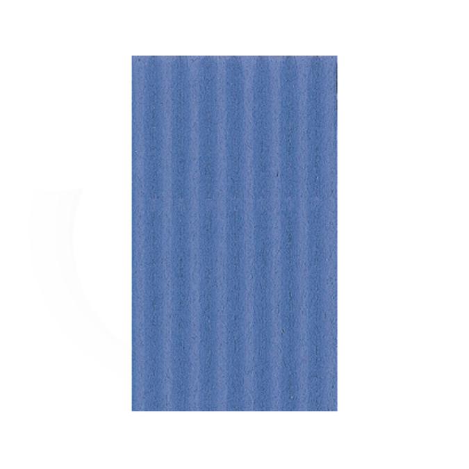 Carton ondulé 50 x 70cm bleu France