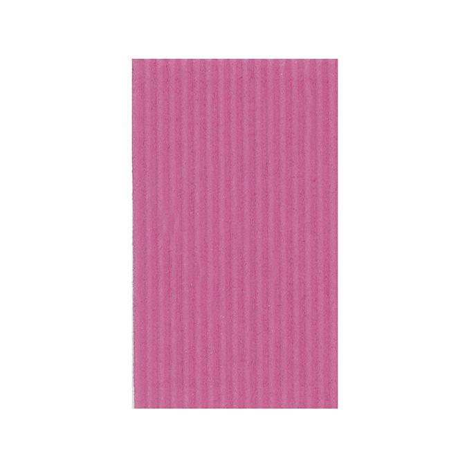 Carton ondulé 50 x 70cm 230g rose
