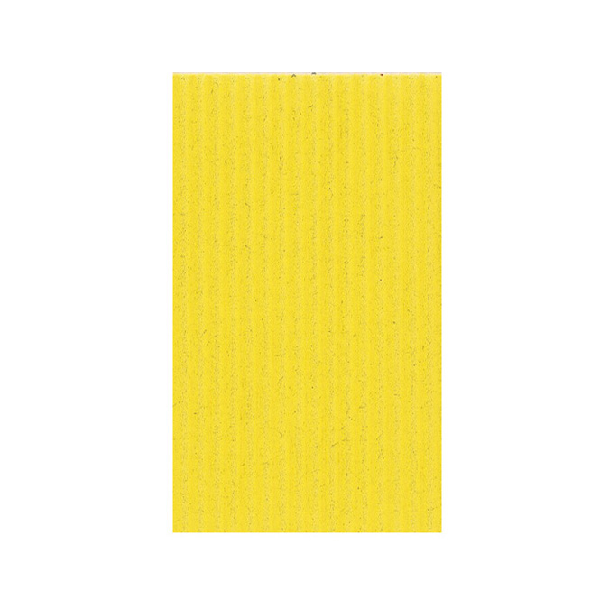 Carton ondulé 50 x 70cm 230g jaune