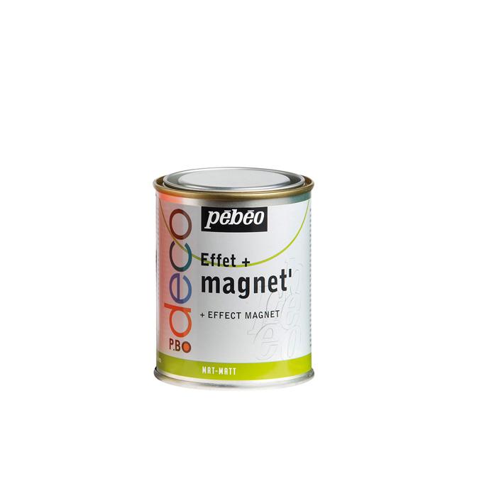 Peinture acrylique P.BO deco effet magnétique 250ml