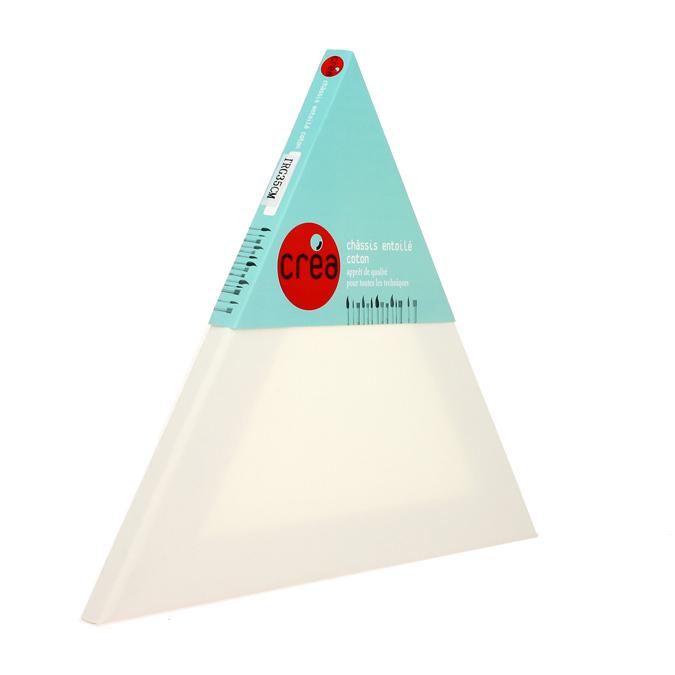 Châssis triangle entoilé coton