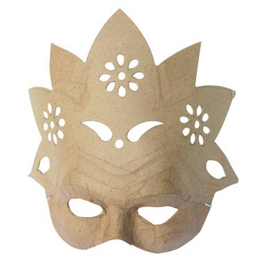 Masque fleur en papier m ch d copatch chez rougier pl - Comment faire un masque en papier ...