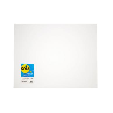 Papier à dessin 160g 50 x 65cm Manipack de 25 feuilles