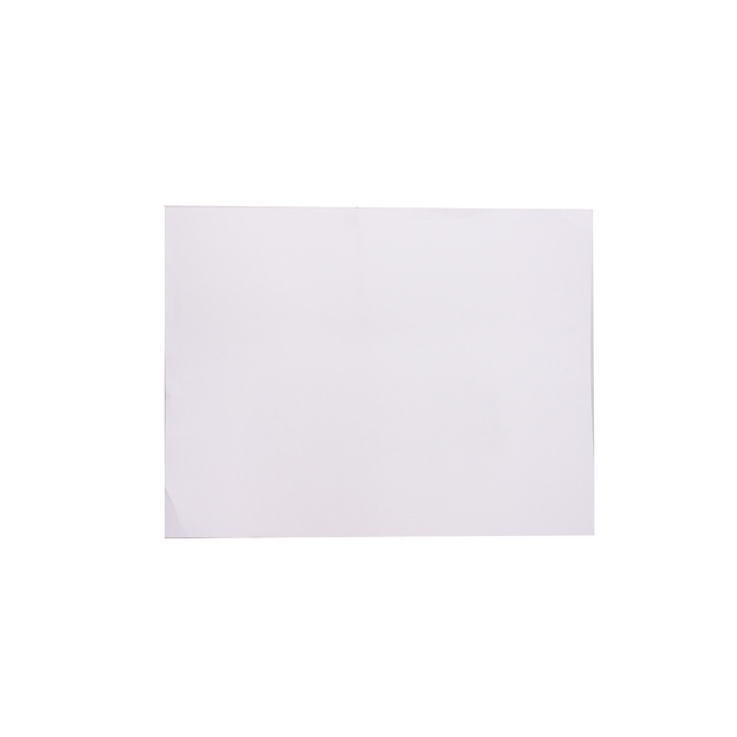 Film polyester en feuille de 50 x 65cm 125µ