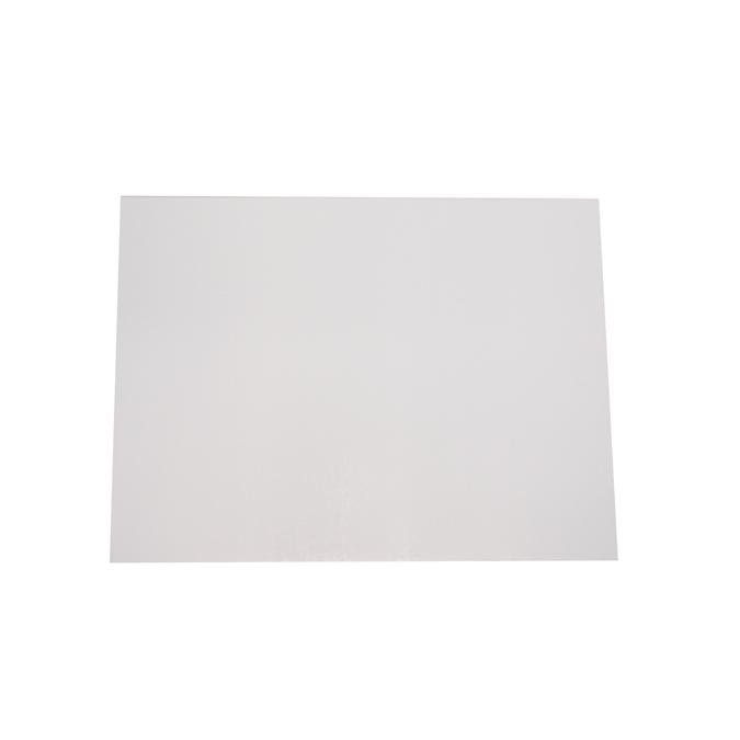 Carton blanc/gris 550g 50 x 65cm Epaisseur 0'75 mm - 550 g/m2
